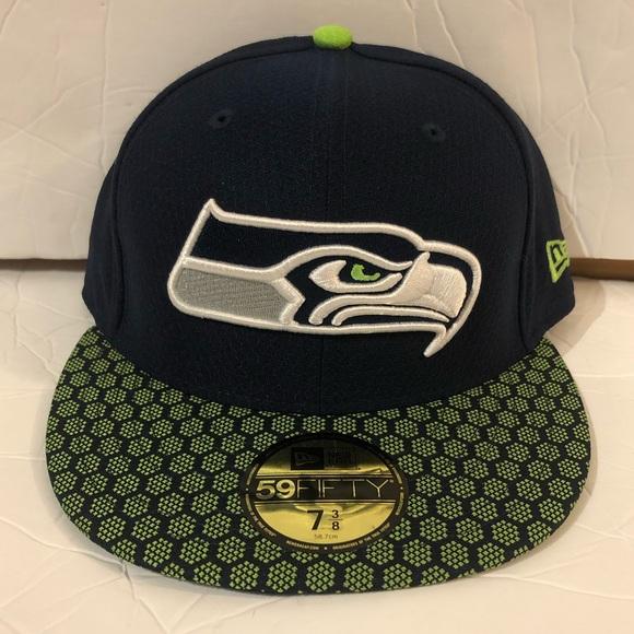 71109146505 Seattle Seahawks Hat. NWT. New Era